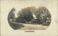 Brookfield MA Main St. c1910 Real Photo Postcard - Eddy Make