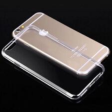 Para Samsung Galaxy S6 Edge delgada Transparente clara de gel de silicona caso cubierta de piel