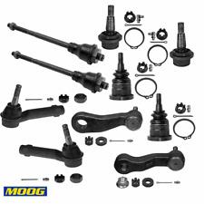 10pcs Moog Steering linkage Parts For Chevy Avalanche 1500 Silverado 1500 Tahoe