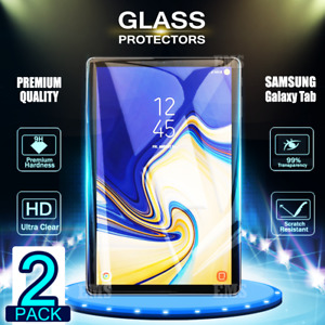 2x Tempered Glass /Pet Screen Protector For Samsung Galaxy TAB S4 10.5 T830 2018