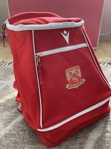 Morecambe FC Macron - Player Kit Bag Rucksack - BRAND NEW Football Club - £5 !!
