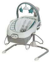 Graco Baby Duet Sway LX Swing with Portable Bouncer Merrick NEW