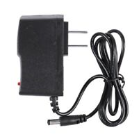 100-240V to 9V 1A AC/DC Adapter Power Supply Charger 5.5x2.1mm US Plug Y9Y1