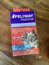 Feliway Multicat 30 Day Refill for Diffuser 48 mL Freeshipping!