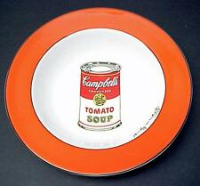 "Andy Warhol Campbell's Soup 9"" Bowl(s) by Block! PoP aRT"