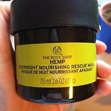 The Body Shop Hemp Overnight Nourishing Face Mask For DRY SKIN 75ml Brand new