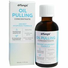 Dr Tung's Oil Pulling Concentrate (50ml) | Natural Teeth Cleansing Whitening