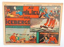 Les Aventuriers d'Aujourd'hui n°7. Le Roi de la Police Montée. Septembre 1938