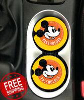 WDW Annual Passholder Disney Inspired Car Coasters Disney Annual Passholders