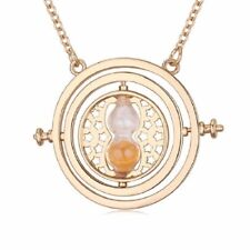 Harry Potter Hermione rotating time turner Pendant Necklace Jewellery Costume Pr