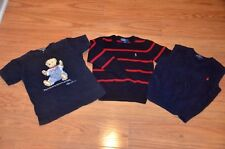 Polo Ralph Lauren boys kids shirt lot tops size 4T