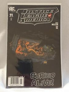 Justice League Of America 11 2nd Series Very Fine Condition