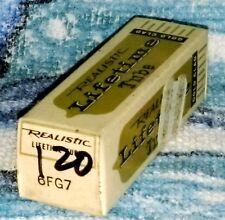 NOS Realistic Lifetime Goldclad 6FG7 vacuum tube radio TV valve, TESTED