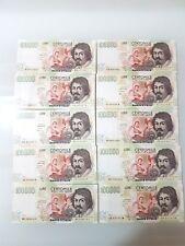 100000 LIRE CARAVAGGIO 2°TIPO