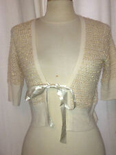 GILET KAREN MILLEN  SEQUIN TAILLE 2/M  EN EXCELLENT  ETAT AUTHENTIQUE
