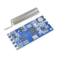 433Mhz 3.2 V-5.5 V HC-12 SI4463 Wireless Serial Port Module Replace Bluetooth