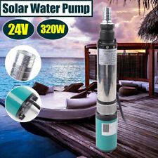 320W Dc 24V Electric Pump Solar Submersible Deep Well Water Pump 25m 5m³/h Max