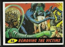 1962 Topps Mars Attacks #33 Removing the Victims Ex+