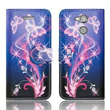 ***FOR SONY XPERIA XA1 & XA2 LEATHER WALLET FLIP PROTECT PHONE FONE CASE COVER