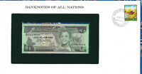 Banknotes of All Nations Ethiopia 1976 1 Birr P-30b UNC Birthday note 1960