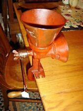 Antique Cast Iron Coffee Grinder for Coffee Beans or Corn The CS Bell Co  8875