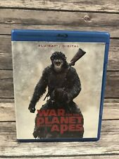 War for the Planet of the Apes (Blu-ray Disc Only *No Digital 2017) Vg