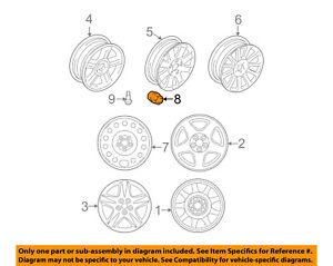 Lincoln FORD OEM 00-06 LS Wheel-Lug Nut 3W4Z1012AA