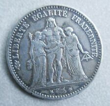 Monnaie de France—5 francs argent—Hercule—1875