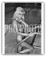 Susan Denberg 1966 Playboy Playmate Hammer Glamour Bikini In Pool US Press Photo