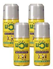 4x120Cc Namman Muay Thai boxing Oil Kick Liniment Muscular Pain Massage Sport