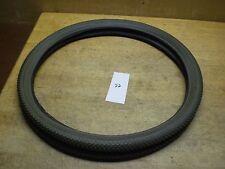 NOS Vintage Carlisle Roadgripper Grey Bicycle Tire 24x1 3/4 Fits Schwinn S-7 #22