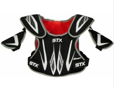 New  STX Youth Stinger Shoulder Pads Lacrosse XXSmall Black/Red