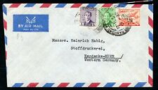 Iraq - 1955 Airmail Cover to Western Germany