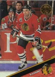 #179 Joe Murphy - Chicago Blackhawks - 1993-94 Leaf Hockey