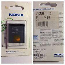 BATTERIA ORIGINALE NOKIA BL-5F PER N95 N93i E65 N95 8GB 6290 6210N N96 6710N