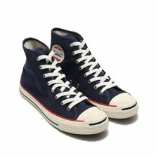 F/S CONVERSE JACK PURCELL PP RH HI Navy/Trico Japan Exclusive navy 27cm US9.0