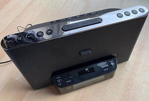 SONY XDR-DS16iPN DREAM MACHINE AUDIO DOCK CLOCK RADIO DAB DAB+ FM AUX MEGA BASS