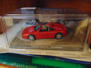 Boxed 1:43 Scale GE Fabbri Ltd. Ferrari F355 GTS Goldeneye James Bond 007