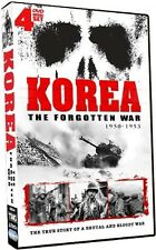 Korea: The Forgotten War 1950-1953 [4 Discs] (2010, REGION 1 DVD New)