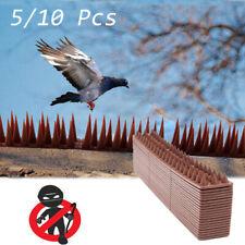 Wall Fence Spikes Garden Security Intruder Cat Bird Repellent Burglar Anti-Climb
