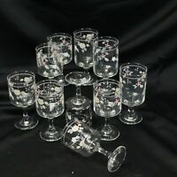 Pfaltzgraff Wyndham Water and Wine Goblets Lot of 10