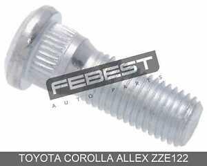 Wheel Stud Pcs 10 For Toyota Corolla Allex Zze122 (2001-2006)