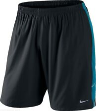Men's New Nike Dri-Fit Running Shorts Fitness Gym Training Sports Short - Black
