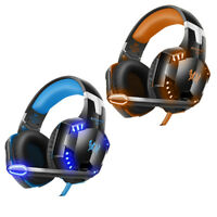 3.5mm Gaming 3D Stereo Surround Headset for Xbox One PC PS4 With Mic LED Lights