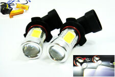 Pair 9006 HB4 CREE LED No Error Projector Fog Driving Light w/Resistor For LEXUS