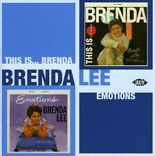 Brenda Lee - This Is Brenda / Emotions [New CD] UK - Import