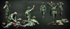 █ 1/35 Resin WWII US & German Soldiers 10 Figures Set BL154
