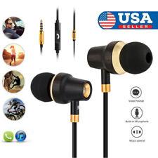 NEW Universal 3.5MM Bass In-Ear Earphone Gym Stereo Headset For Phone Headphone