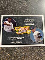 Derek Jeter/Jose Reyes 2008 Upper Deck Baseball Heroes BLACK PARALLEL #179