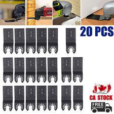 20x Cut Blade Oscillating Saw Blade Cutter Multi Tool Carbon Steel Universal NEW